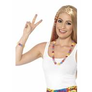 Hippie peace ketting regenboog