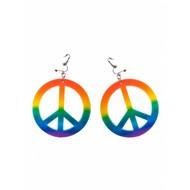 Oorbellen peace met clip