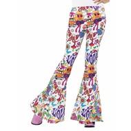 Hippie Groovy broek dames