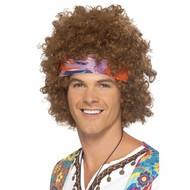 Hippie verkleed set Paisley mannen