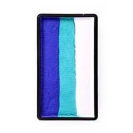Splitcake blauw-pastel groen-wit 28gram
