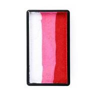 Splitcake rood-roze-wit 28gram