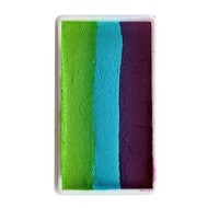 Splitcake donker paars-blauw-groen 28gram