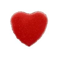 Folie ballon hart rood  nr. 18 45.7cm