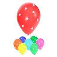 Ballonnen met stippen assortie kleuren