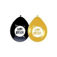 Ballonnen Happy Birthday 6 stuks