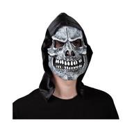 Skeleton grimreaper masker met hoofdbedekking