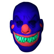 Masker horror clown neon  UV kleuren