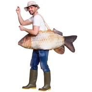Gedragen door vissen  kostuum Barry