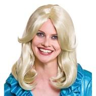 Blonde glamour pruik  Melody