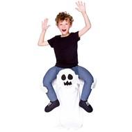 Gedragen door spook kostuum