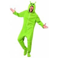 Alien kostuum jumpsuit volwassenen