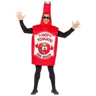 Tomaten ketchup fles pak volwassenen