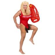 Braziliaanse lifeguard pak volwaasenen