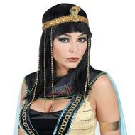 Pruik Egyptische keizerin Victoria dames