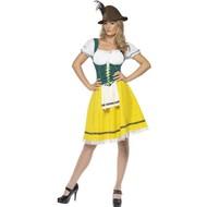 Oktoberfest kostuum Helga geel