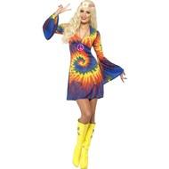 Hippie regenboog jurkje Mirthe