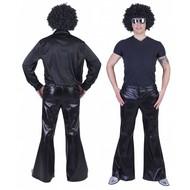 Disco broek Fever zwart