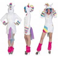 Unicorn Regenboog pak Lot dames