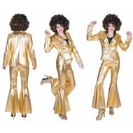 Gouden disco jasje Fever dames