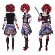 Creepy Clown kostuum Lea dames