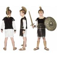 Romeinse soldaat pak Crixo  jongen