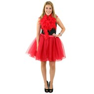 Tule rok Denise deluxe rood