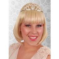 Strass tiara Caroline