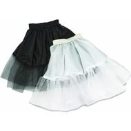 Zwarte petticoat 55cm