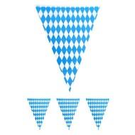 Vlaggenlijn blauw wit Oktoberfest