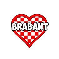 Applicatie Brabant hart 7 cm hoog