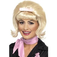 Pruik Babette blond 50jaren