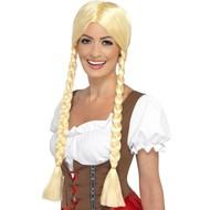 Blonde Tiroler pruik