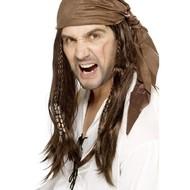 Pruik piraten boekanier