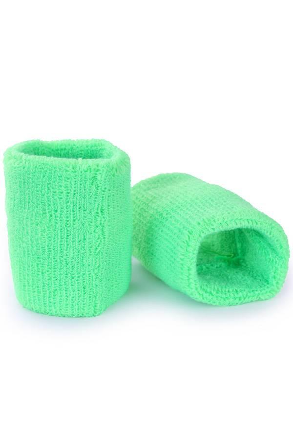 Leuke polsbandjes fluor groen