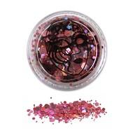 Grove schmink glitter poeder in roze