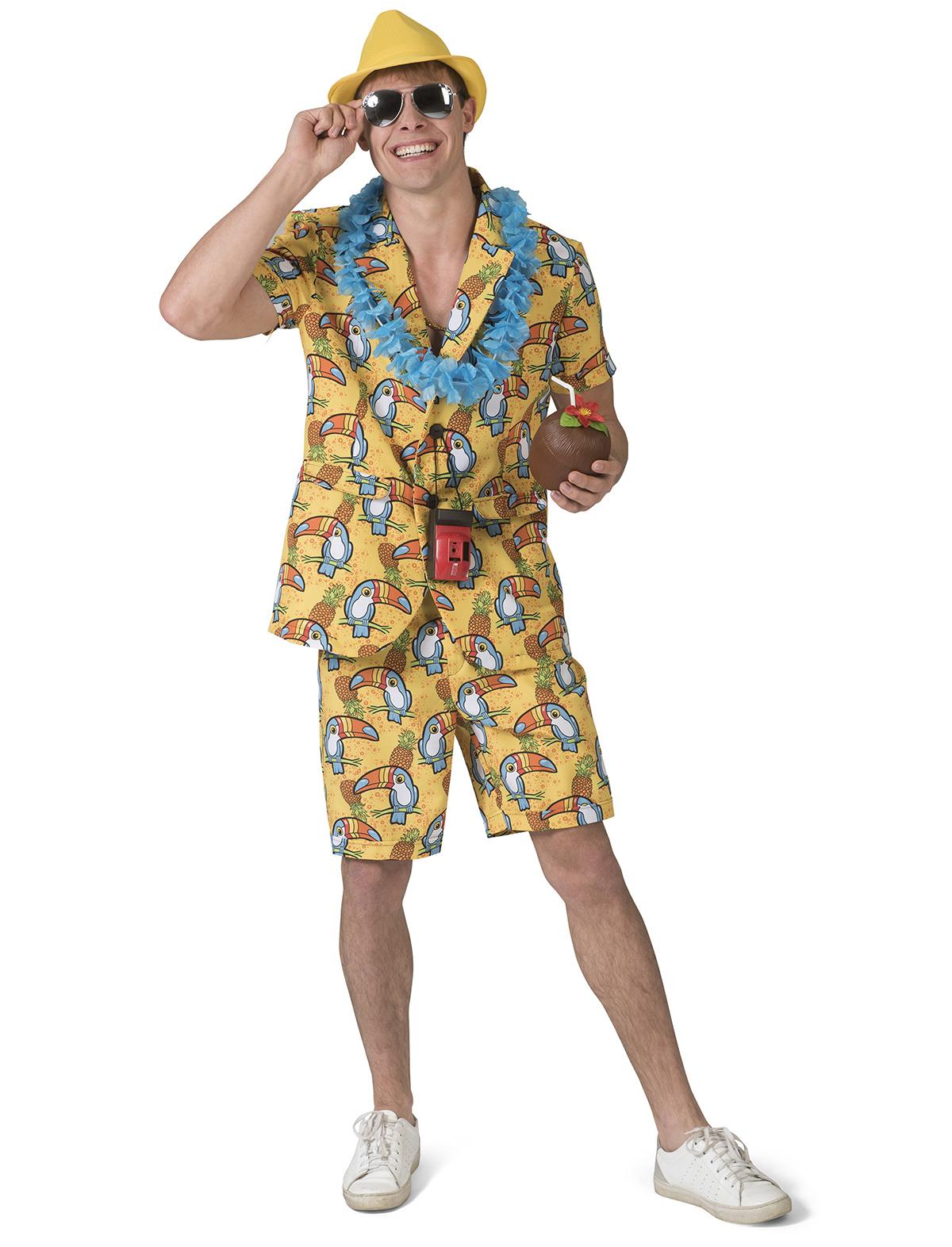 Hawaii kostuum Toekan heren