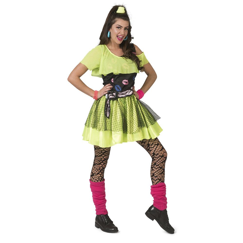 Betere Ruig disco punk jurkje Kiss jaren-80 GC-25