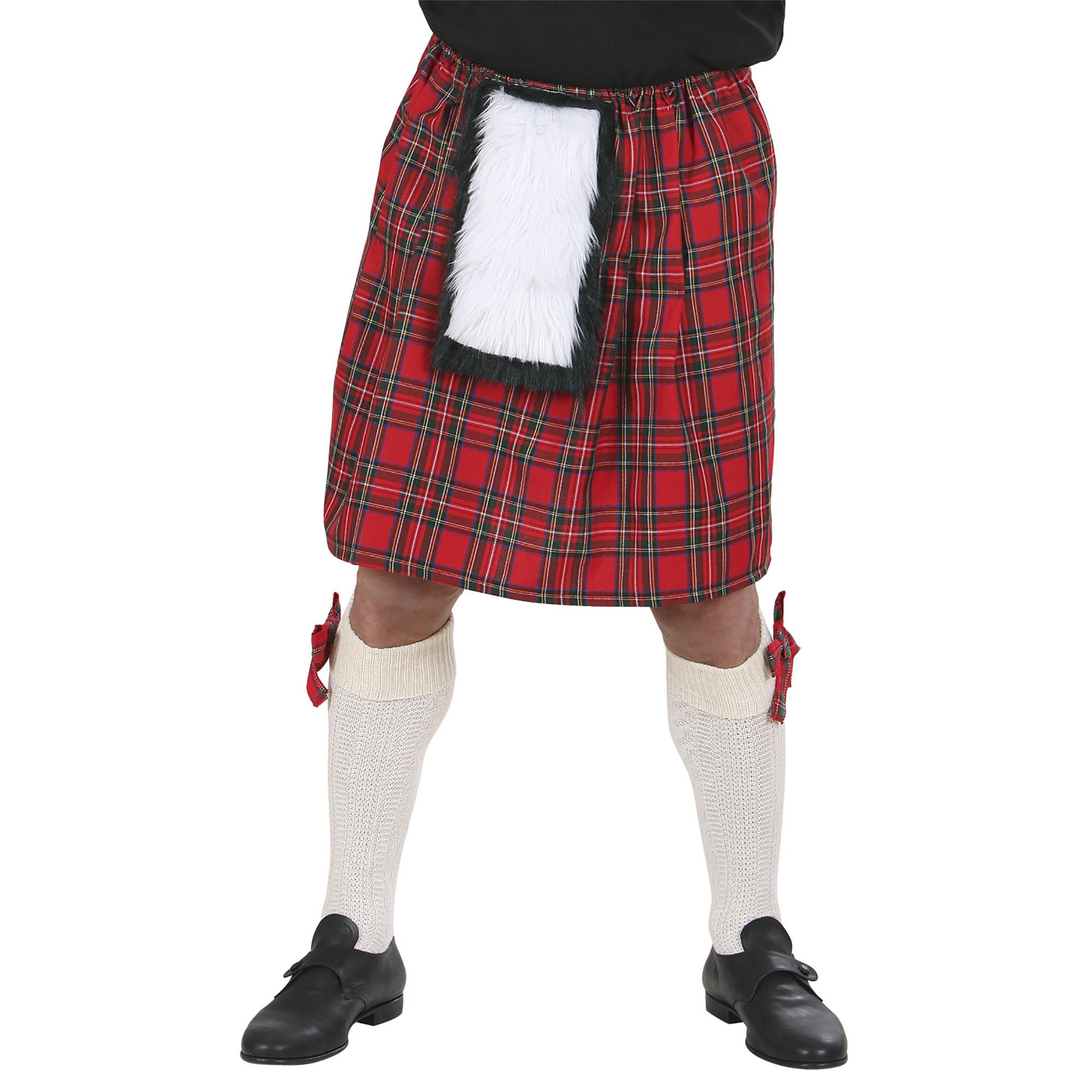 Carnavalskostuum: Schotse kilt voor carnaval