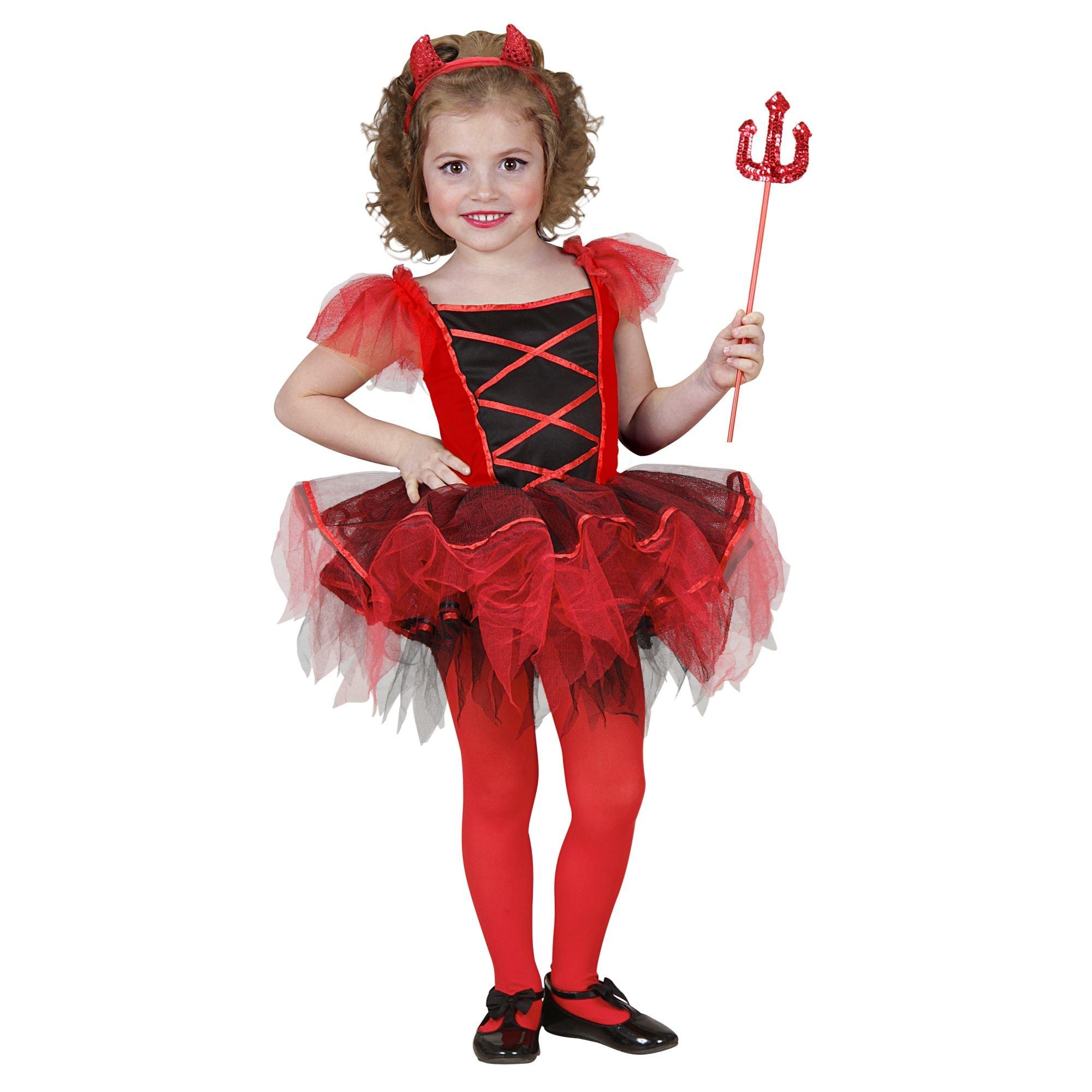 Schattig duivel jurkje voor kleine kinderen