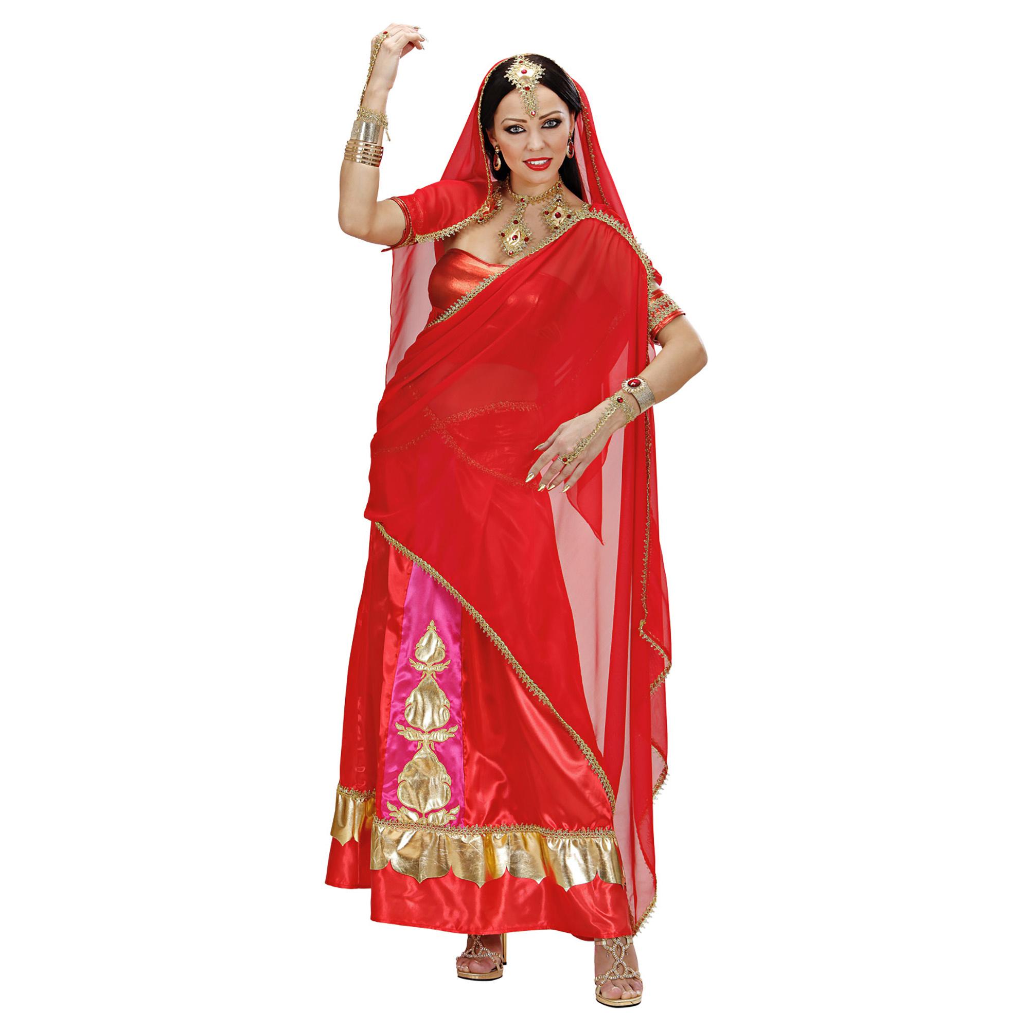 Bollywood Diva jurkjes in de kleur rood