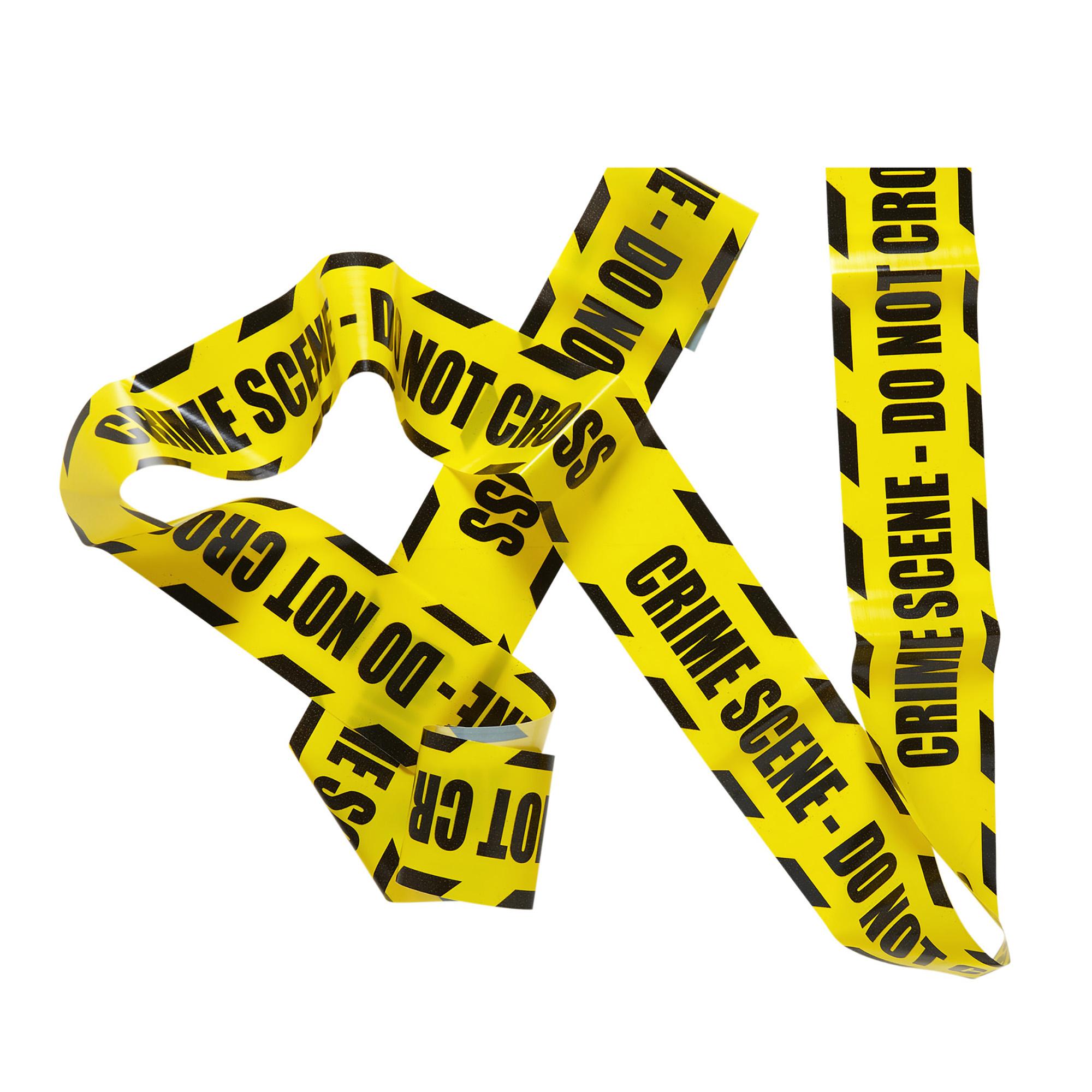 Afzet lint CSI do not cross politie