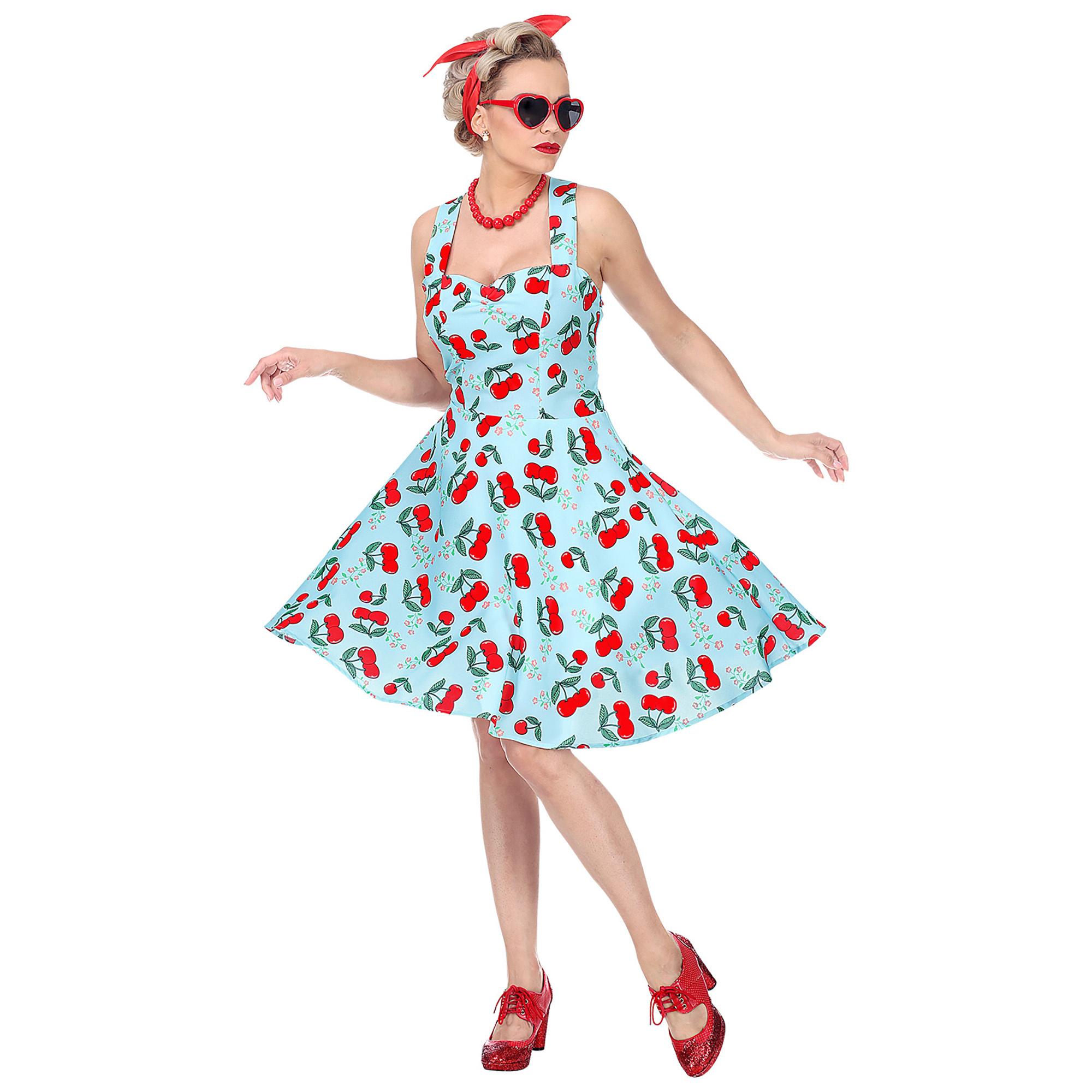 Fonkelnieuw Mooie jaren 50 jurk Cherry voor dames KZ-25