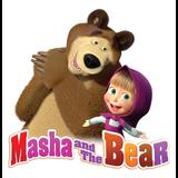 Masha en de beer versiering