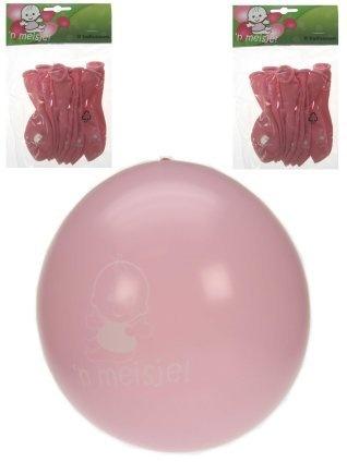 Geboorteballon hoera een meisje! ballon