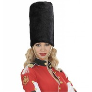 Carnavalsaccessoires: Hoed Royal guard pluche