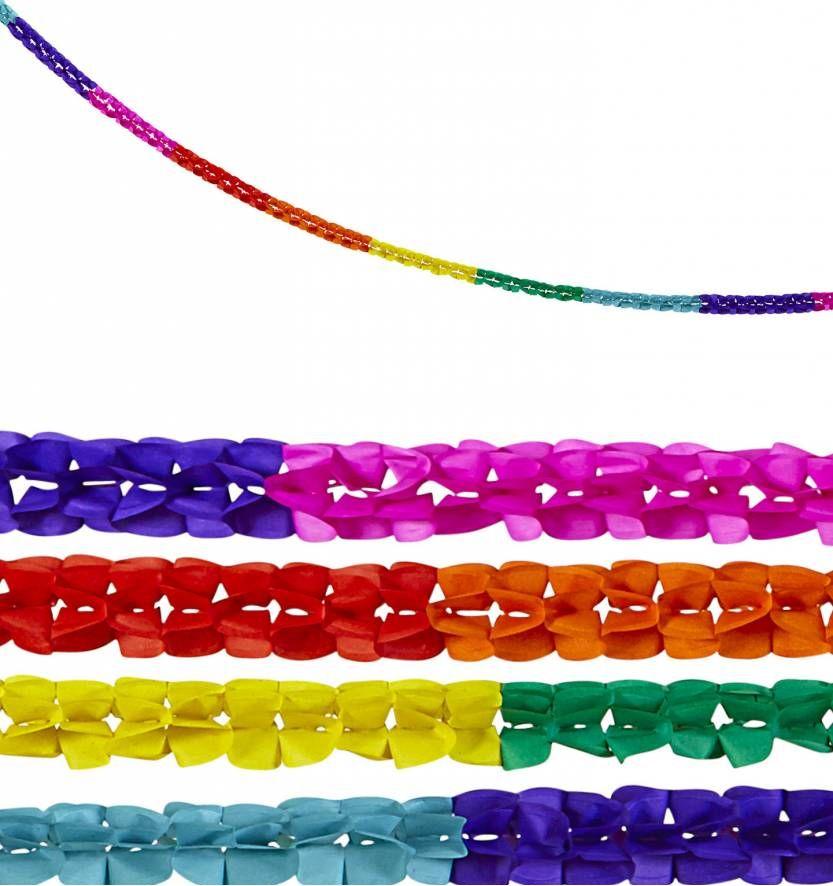 Feestslingers in multi kleuren voor party's