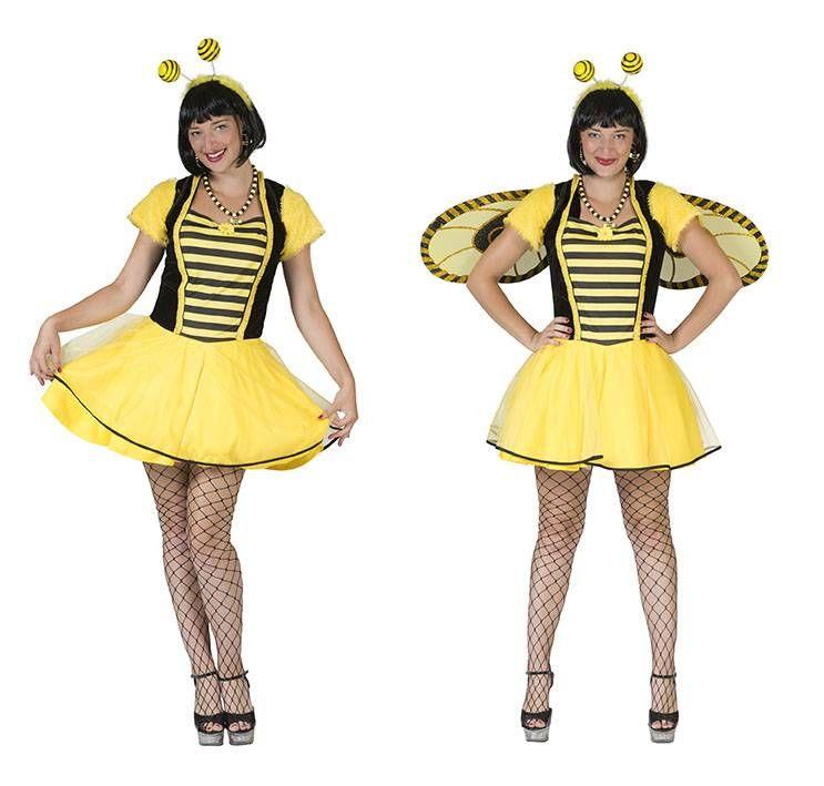 Grappig bijen kostuum voor dames