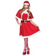 kerst jurk kerstvrouw