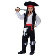 Piraten kapitein pak kind